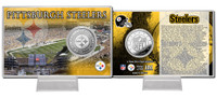 Pittsburgh Steelers Silver Coin Card