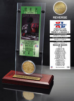 Super Bowl 40 Ticket & Game Coin Collection