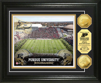 Purdue University Stadium Gold Coin Photo Mint