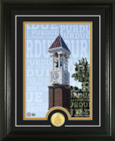 Purdue University Campus Traditions Bronze Coin Photo Mint