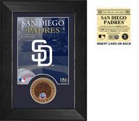 San Diego Padres Infield Dirt Coin Mini Mint