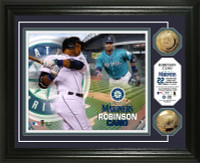 Robinson Cano Gold Coin Photo Mint