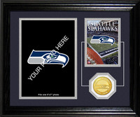 Seattle Seahawks Framed Memories Desktop Photo Mint