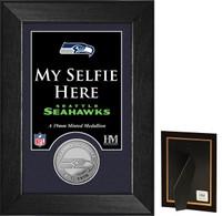 Seattle Seahawks Selfie Minted Coin Mini Mint