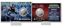 Richard Sherman Silver Coin Card