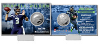 Russell Wilson Silver Coin Card