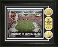 University of South Carolina Stadium Gold Coin Photo Mint