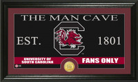 University of South Carolina Man Cave Bronze Coin Panoramic Photo Mint