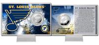 St. Louis Blues Silver Coin Card