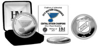 St. Louis Blues 2015 Division Champions Silver Mint Coin