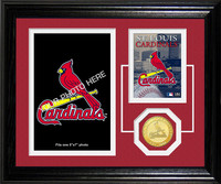 St. Louis Cardinals Fan Memories Photo Mint