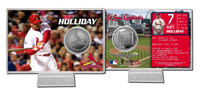 Matt Holliday Silver Coin Card