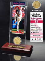 Michael Wacha Ticket & Bronze Coin Acrylic Desk Top