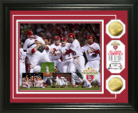 2011 World Series Champions Celebration Photo Mint