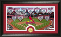St. Louis Cardinals Traditions Bronze Coin Panoramic Photo Mint