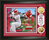 Yadier Molina Gold Coin Photo Mint