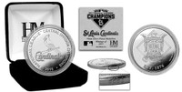 St. Louis Cardinals 2015 Division Champions Silver Mint Coin