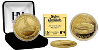 BUSCH STADIUM GOLD COIN