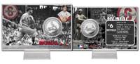 Stan Musial Silver Coin Card