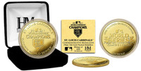 2011 World Series Champions 24KT Gold Coin