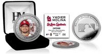 Yadier Molina Silver Color Coin