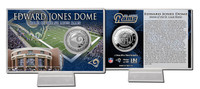 Edward Jones Dome Silver Coin Card