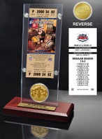 Super Bowl 34 Ticket & Game Coin Collection