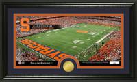 Syracuse University Stadium Bronze Coin Panoramic Photo Mint