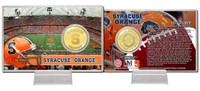 Syracuse University Bronze Coin Card