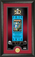 Tampa Bay Buccaneers Super Bowl 50th Anniversary Bronze Coin Supreme Photo Mint