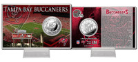 Tampa Bay Buccaneers Silver Coin Card