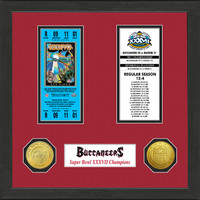 Tampa Bay Buccaneers  SB Championship Ticket Collection