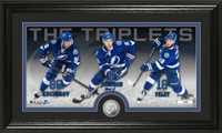 *Tampa Bay Lightning The Triplets Minted Coin Panoramic Photo Mint