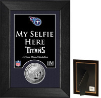 Tennessee Titans Selfie Minted Coin Mini Mint