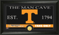 University of Tennessee Man Cave Bronze Coin Panoramic Photo Mint