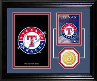 Texas Rangers Fan Memories Photo Mint