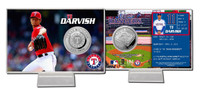 Yu Darvish Silver Coin Card