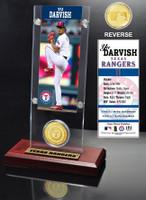 Yu Darvish Ticket & Bronze Coin Desk Top Acrylic