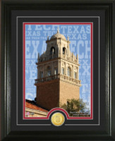 Texas Tech University Campus Traditions Bronze Coin Photo Mint