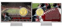 Texas Tech University Bronze Coin Card