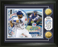 Russell Martin Gold Coin Photo Mint