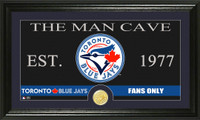 Toronto Blue Jays The Man Cave Bronze Coin Panoramic Photo Mint