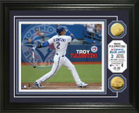 Troy Tulowitzki Toronto Blue Jays Gold Coin Photo Mint