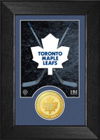 Toronto Maple Leafs Bronze Coin Mini Mint