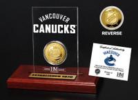 Vancouver Canucks Etched Acrylic Desktop