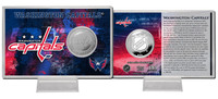 Washington Capitals Silver Coin Card