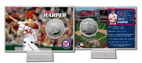 Bryce Harper Silver Coin Card