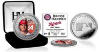Bryce Harper Silver Color Coin