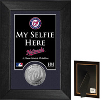 Washington Nationals Selfie Minted Coin Mini Mint