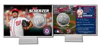 Max Scherzer Silver Coin Card